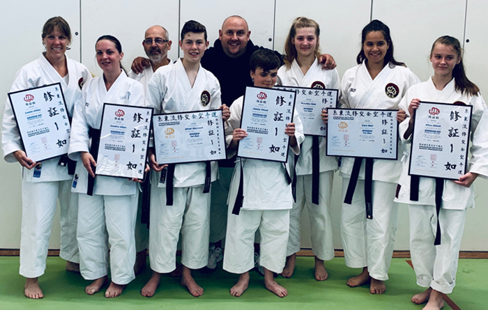 Shushokan Senior Summer Gradings